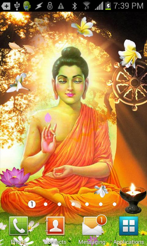 Shiva Animated Wallpaper Hd Gautama Buddha Live Wallpaper Android Apps On Google Play