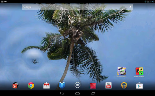 3d Parallax Background Live Wallpaper For Android Os Water Touch Parallax Live Wallpaper Apps On Google Play