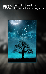 3d Parallax Weather Live Wallpaper Dream Night Pro Live Wallpaper Apps On Google Play
