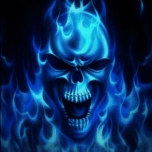 3d Live Wallpaper Mobile9 Download Blu Flame Skull Live Wallpaper Google Play