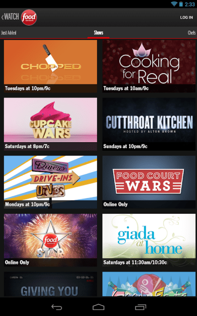 Watch Food Network - Android Apps on Google Play