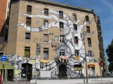 Painted Building in Barcelona.JPG