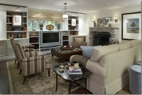 DesignTies: Hooked on Basement Family Rooms and Candice!