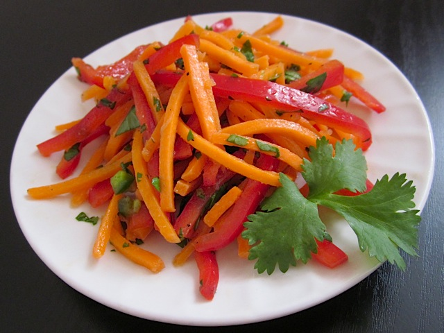 Spicy Sweet Carrot Salad