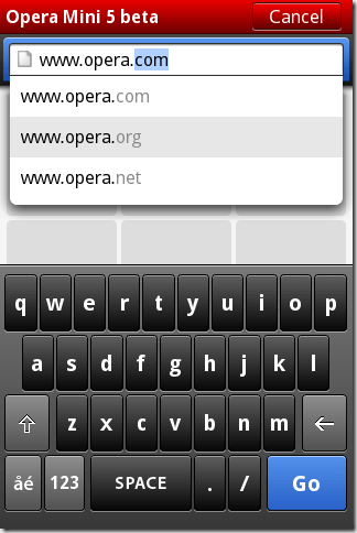 Opera Mini 5 unveiled