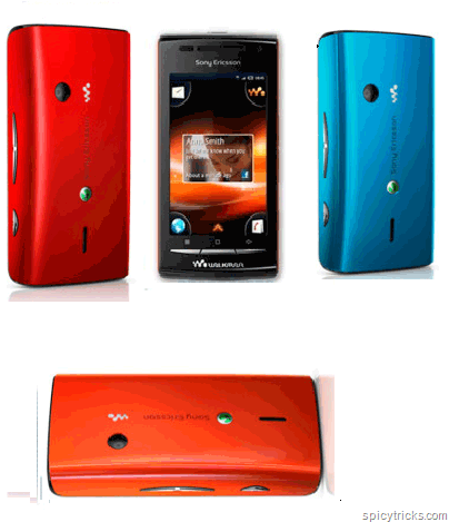  Sony Ericssons First Android Phone  Sony Ericsson W8
