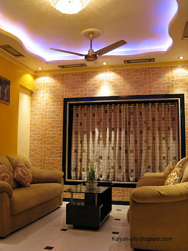 Tv In Front Of Window Interior Design Interior Designer Carpenter Kalyan Dombivli - Arvind Mistry