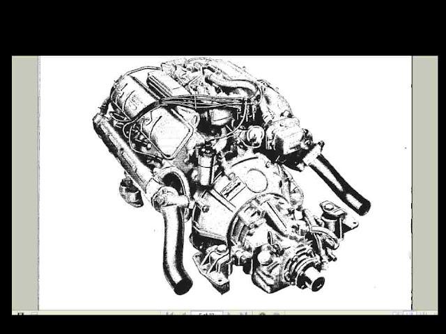 GRAY-MARINE FIREBALL V8 V-8 MARINE ENGINE MANUAL for Boat Motor