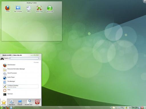 OpenSUSE 11.3 con KDE SC 4.4.4