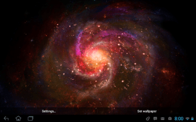 Galactic Core Live Wallpaper - Android Apps on Google Play