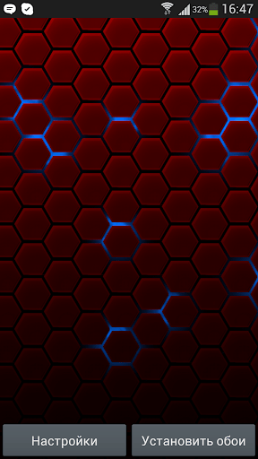Honeycomb Live Wallpaper for Android