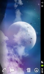 3d Parallax Weather Live Wallpaper For Android Os Mystic Night Live Wallpaper Apps On Google Play