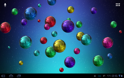Space Bubbles Live Wallpaper - Android Apps on Google Play