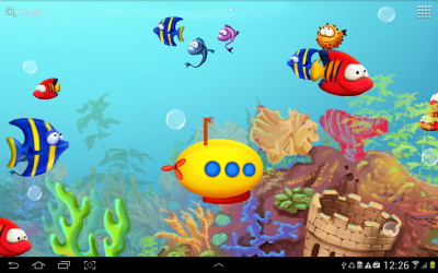 Fish Tank 3D Live Wallpapers | Free Wallpaper