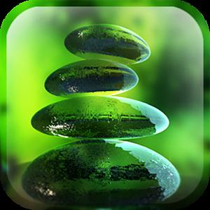 3d Fireflies Live Wallpaper Green Zen Live Wallpaper Android Apps On Google Play