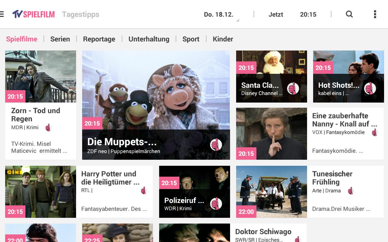 Tv Spielfiml Tv Spielfilm Tv Programm Android Apps On Google Play