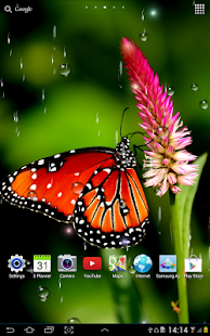 Animated Lonely Girl Wallpapers Rain Live Wallpaper Apps On Google Play
