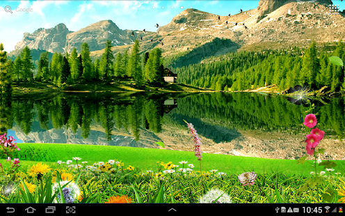 Falling Leaves Live Wallpaper For Android Mountain Landscape Wallpaper Aplikacje Na Androida W