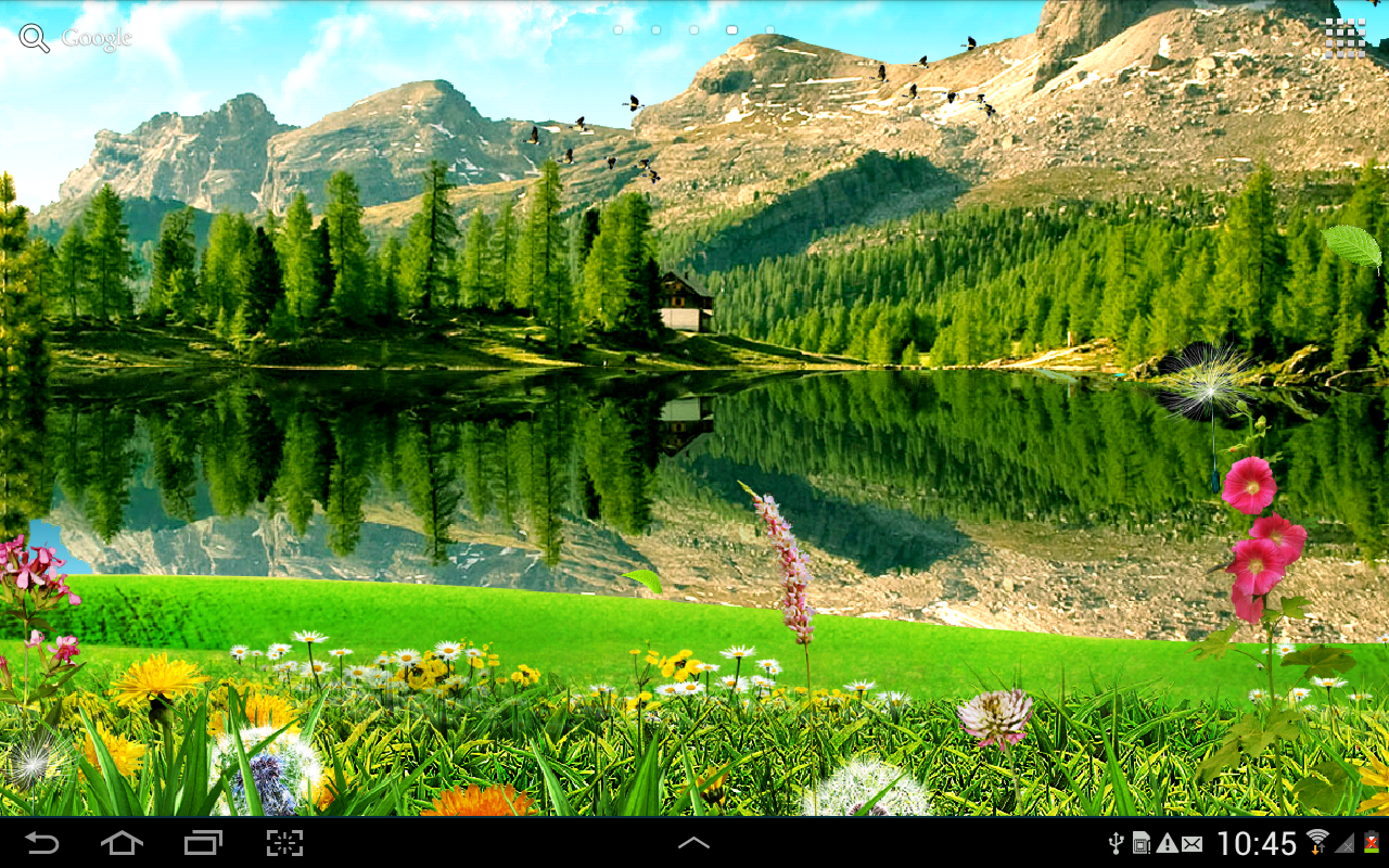 3d Live Wallpaper Android Apps Mountain Landscape Wallpaper Android Apps On Google Play