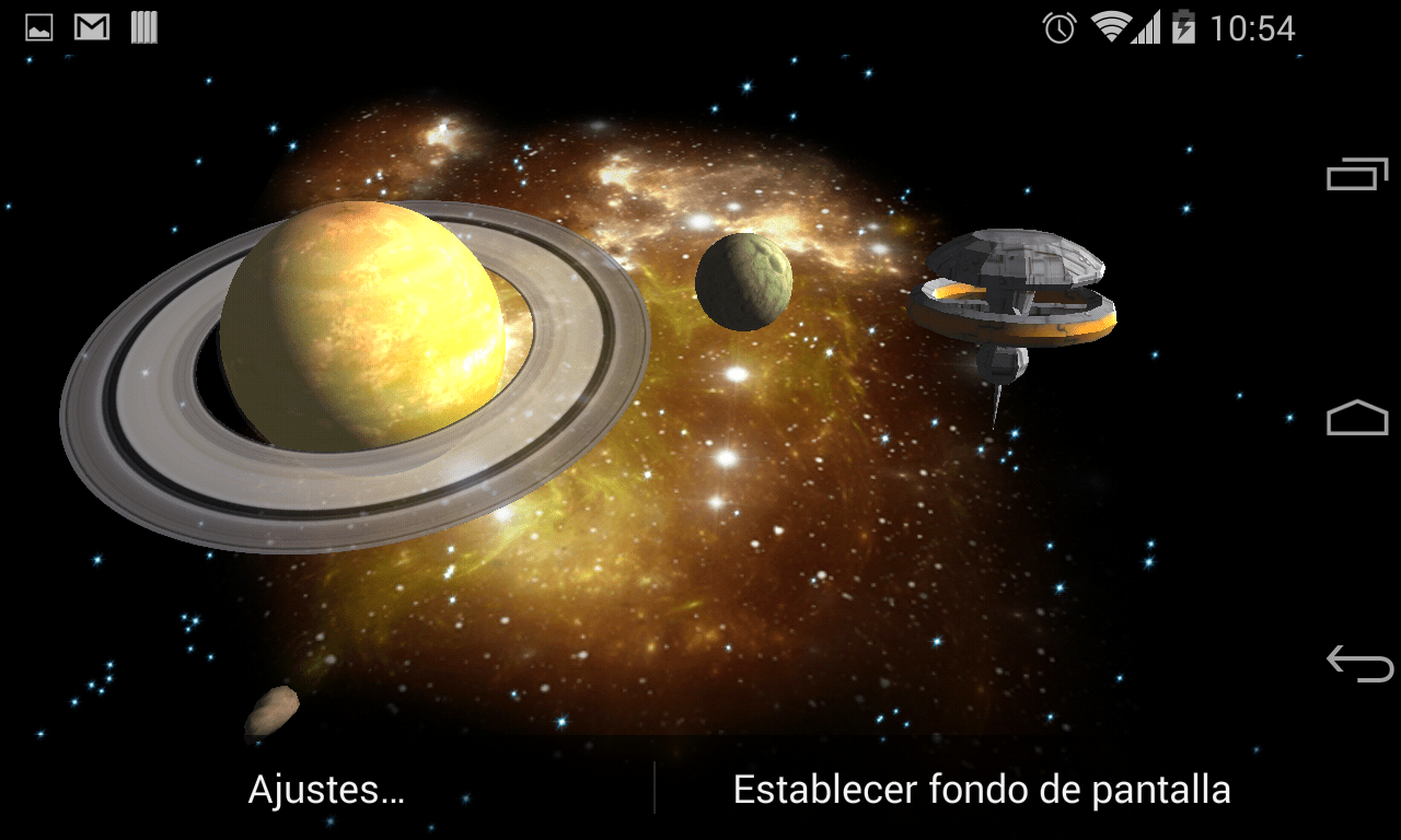 Asteroids 3d Live Wallpaper For Pc 3d Galaxy Live Wallpaper Full Android Apps On Google Play