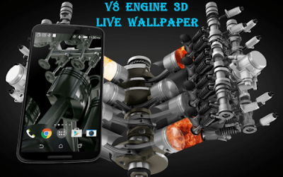 V8 Engine 3D Live Wallpaper - Android Apps on Google Play