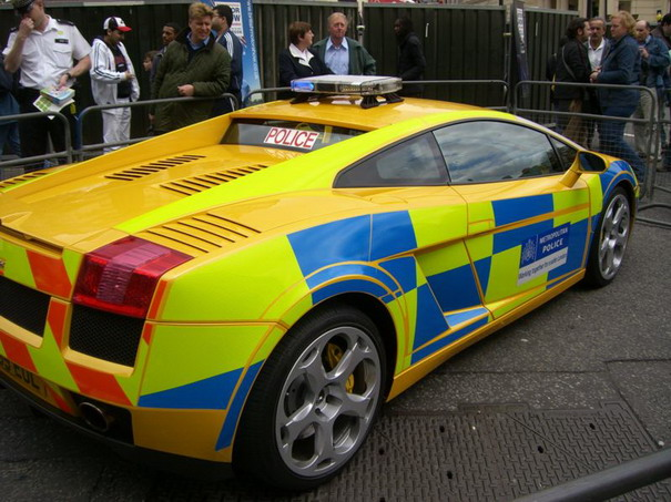police cars around the world