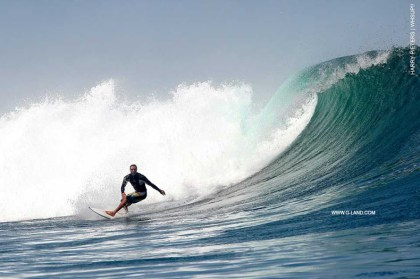 G-Land Surf Report on October 12, 2015