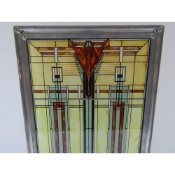 Small Crop Of Frank Lloyd Wright Stained Glass