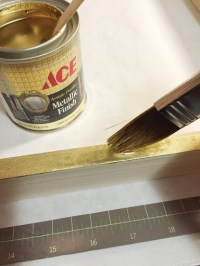 Alternative to Gold Spray Paint - Danks and Honey