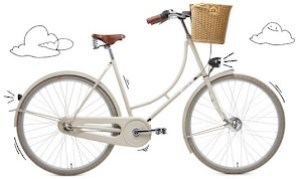 Creme Holy Moly Step Through 3spd, White, $1200 was $1500