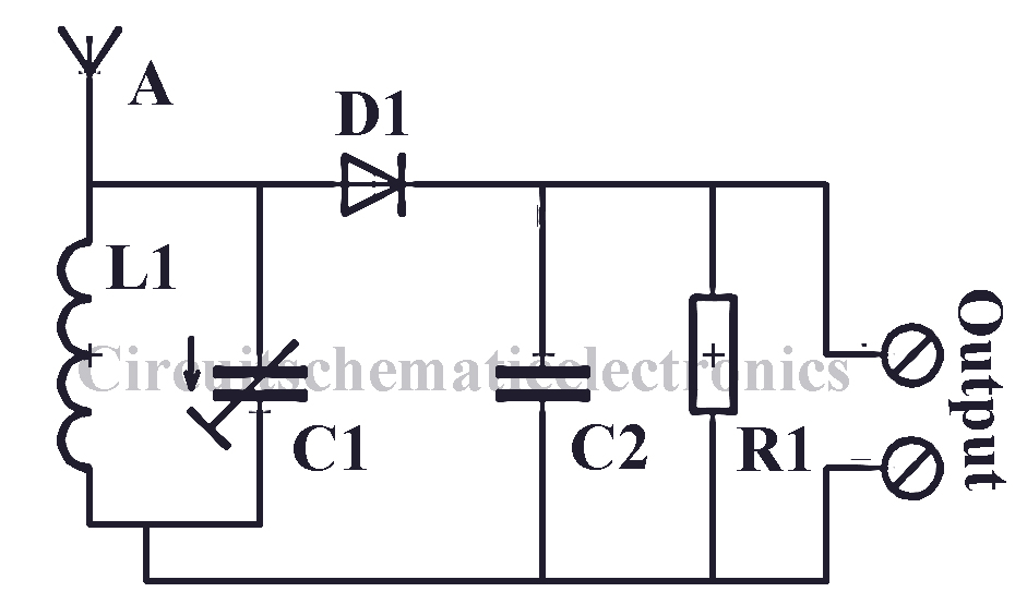 radio circuit without source voltage