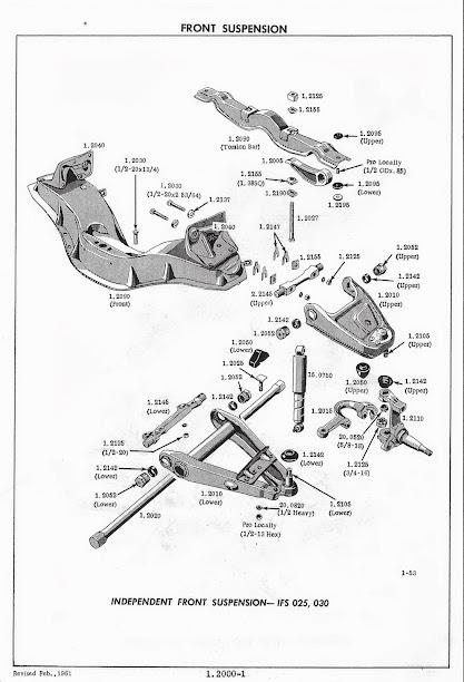 chevy truck front suspension diagram