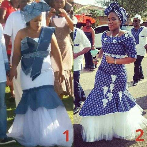 Shweshwe dress designs by African Designers from South Africa and all ...