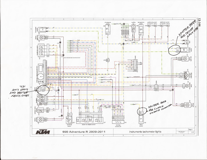 2013 ktm 500 exc wiring diagram