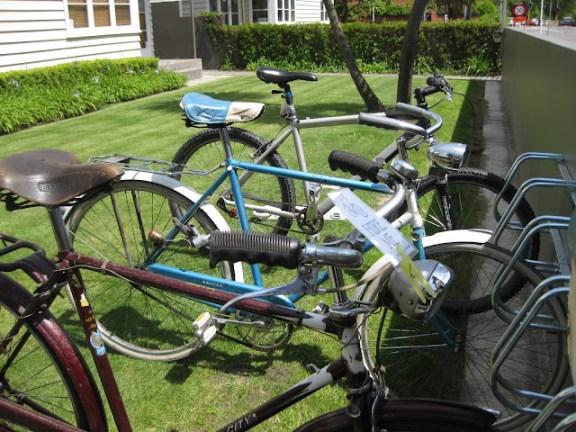 Vintage bikes at the Vintage Peddler in Christchurch