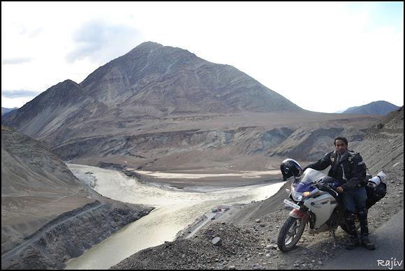 The Indus-Zanskar confluence