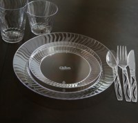 Spring Party with Chinet Cut Crystal Tableware and a ...