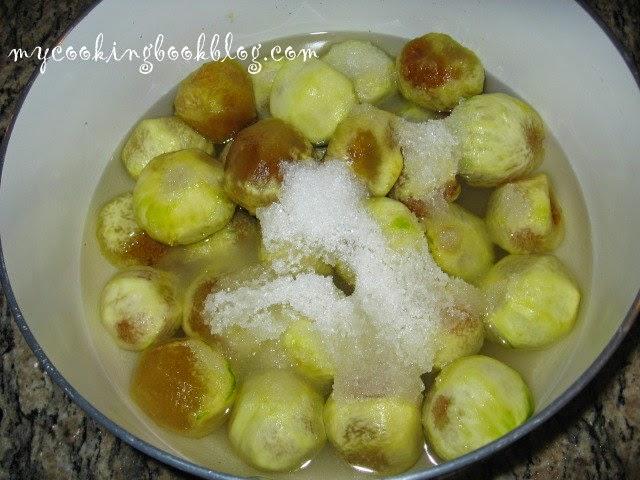 Конфитюр от смокини