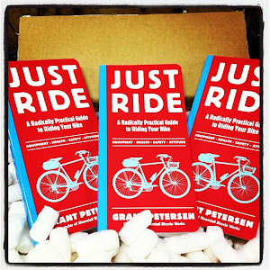 Just Ride by Grant Petersen - Essential wisdom for every cyclist - $25