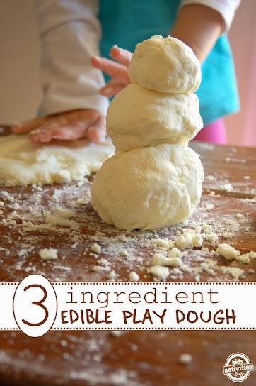 Edible Play Dough by Kids Activities Blog