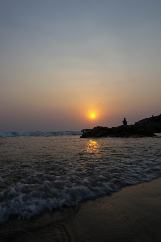 The Golden Hour, Kudle beach - Gokarna