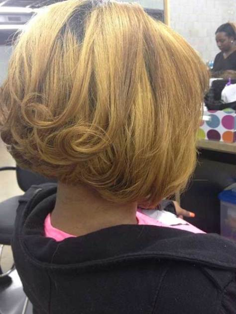 Short Inverted Bob Hair Back View 2016 Styles 7