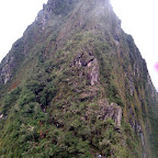 The steep ascent up Wayna Picchu