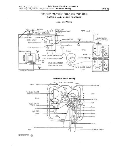 john deere 70 wiring diagram