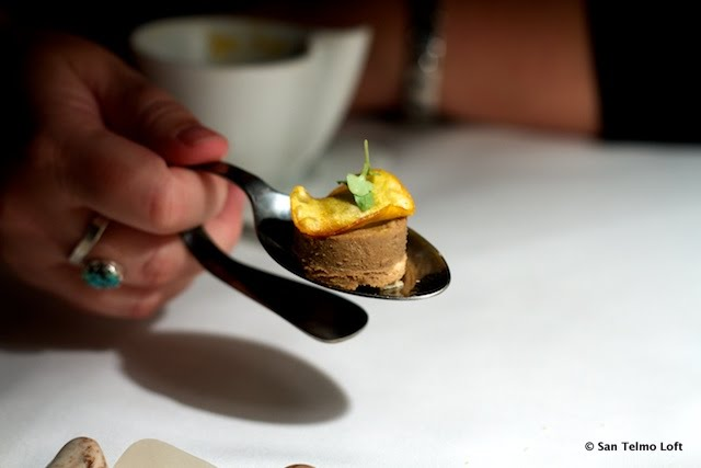 Amuse Bouche at Aramburu in San Telmo