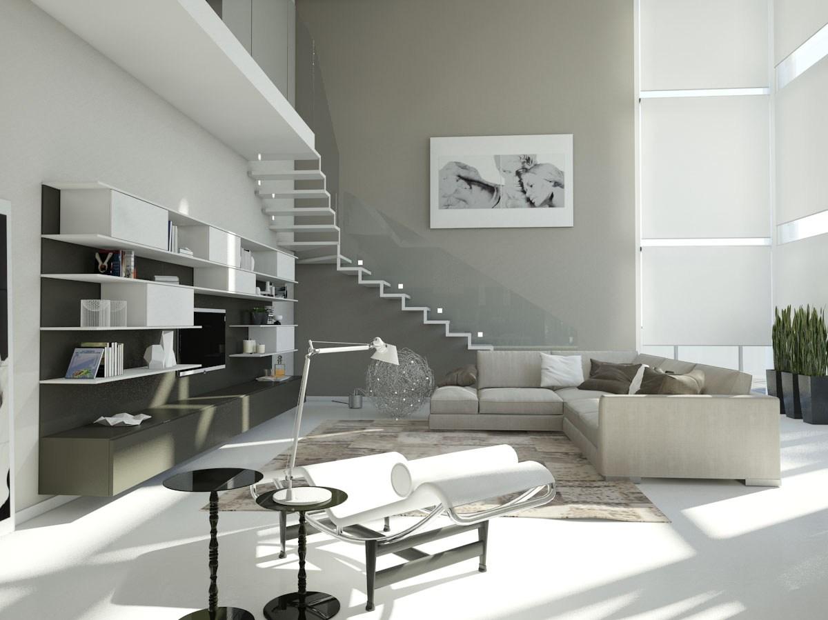 Cucine moderne con soggiorno come arredare cucina moderna trendy