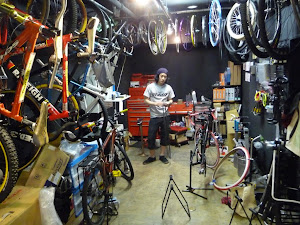why don't they get proper bike repair stands in Japan?