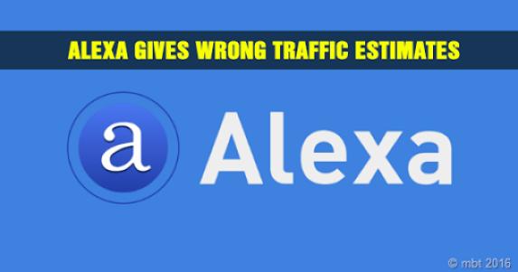 Alexa Gives Wrong Traffic Estimates