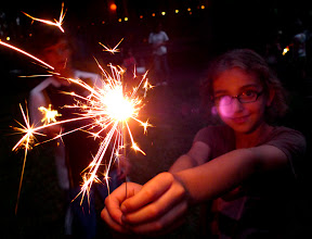 Simple sparklers are so beautiful