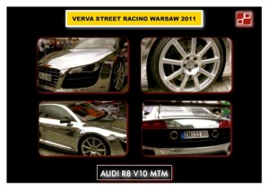 Audi R8 on Verva Street Racing in Warsaw 2011